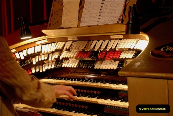2019 March 16 Bournemouth Pavilion Theatre 90 Years. (11) Behind the scenes tour. The Compton Organ. 11