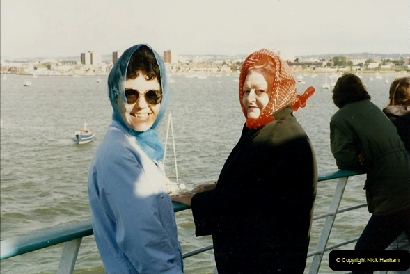 FRANCE 1983. Poole to Cherbourg. (24) Your Host's Wife and Late Mother.23