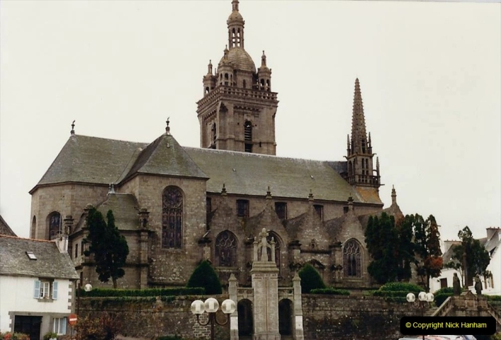1986 Brittany, France. (97) Three parish closes St.Thegonnec - Guimiliau - Lampaul. 097