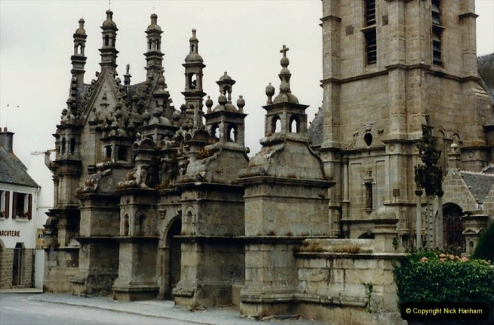 1986 Brittany, France. (98) Three parish closes St.Thegonnec - Guimiliau - Lampaul. 098
