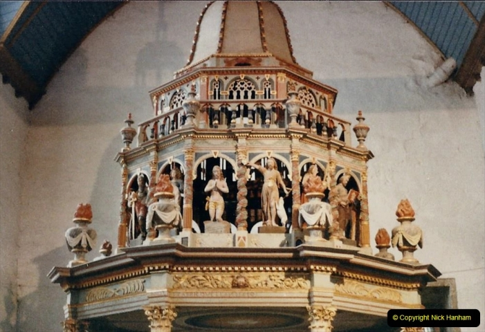 1986 Brittany, France. (102) Three parish closes St.Thegonnec - Guimiliau - Lampaul. 102