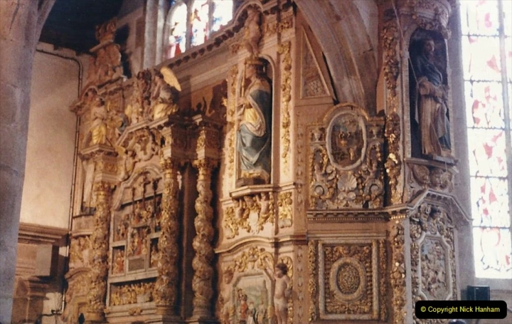 1986 Brittany, France. (106) Three parish closes St.Thegonnec - Guimiliau - Lampaul. 106
