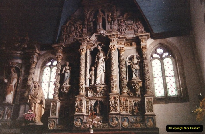 1986 Brittany, France. (107) Three parish closes St.Thegonnec - Guimiliau - Lampaul. 107