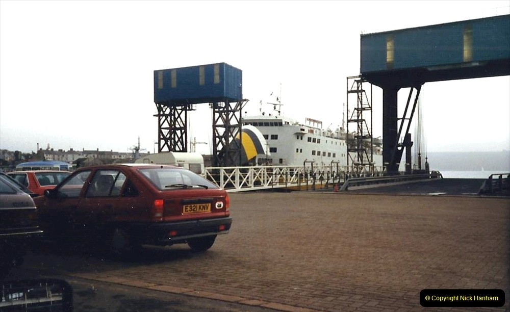 1988 Brittany, France. (1) Plymouth to Roscoff. 01