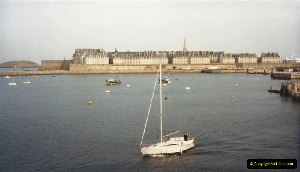 1988 Brittany, France. (60) St. Malo. 60