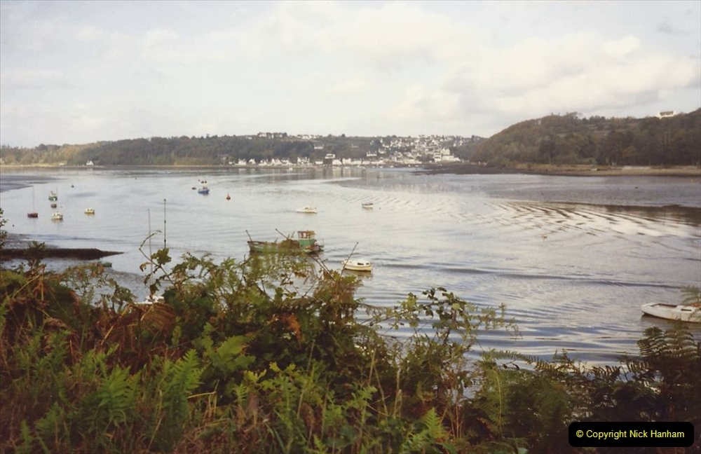 France October 1989 Morlaix and the Locquenole area.  (12)12