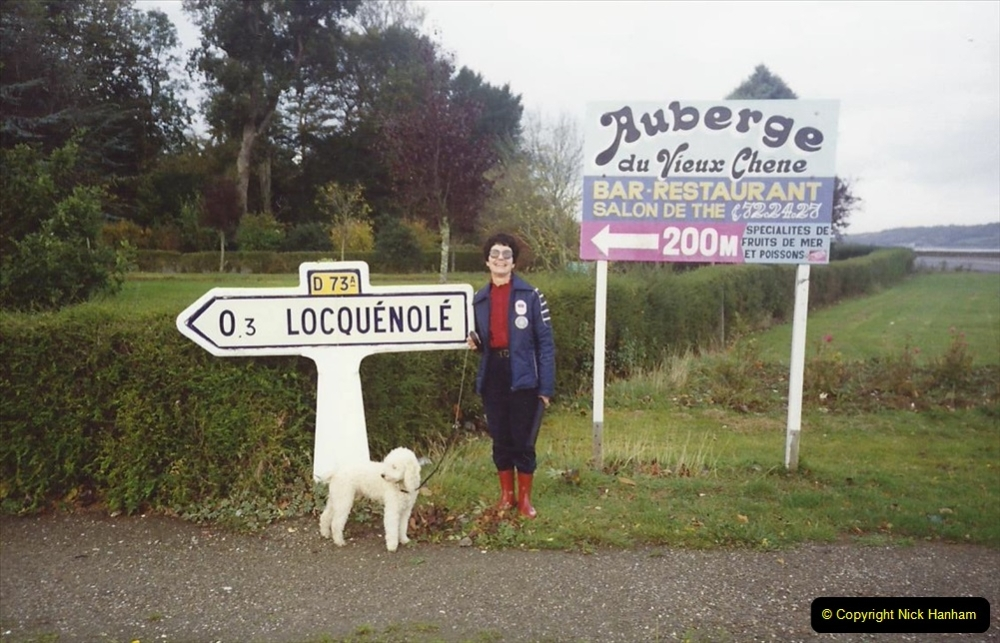 France October 1989 Morlaix and the Locquenole area.  (13)13