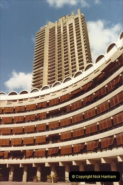 1982 London. (2) The Barbican. 011202011