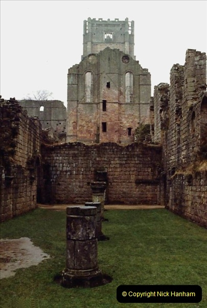 1983 Cumbria & Yorkshire. (2) Fountains  Abbey. 053244053