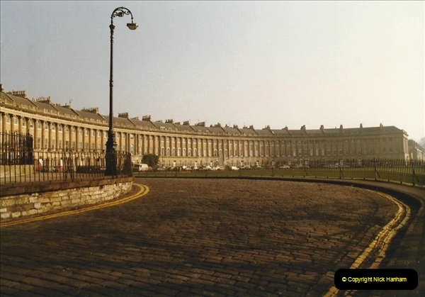 1984 Bath, Somerset. (8) The Royal Crescent. 103294103