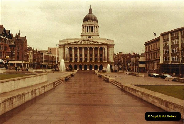 1984 Nottingham. (19) Town Hall.183374183