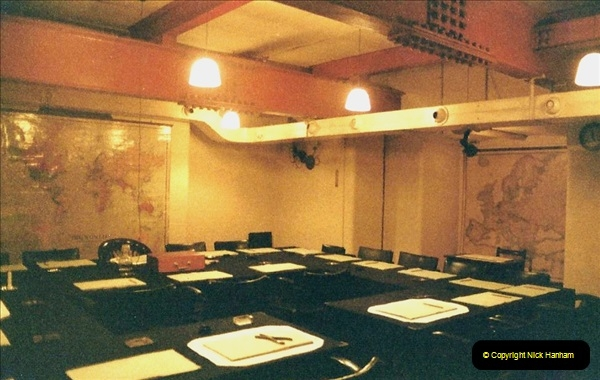 1985 London. (6) The Cabinet War Rooms. 408217