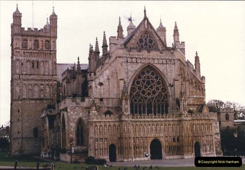 1986 Exeter. (12) Exeter Cathedral. 482291