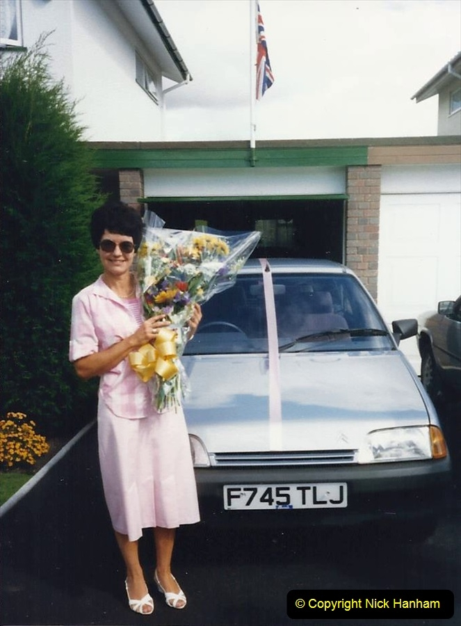 1988 A new car for your Host's Wife birthday. (11)609415