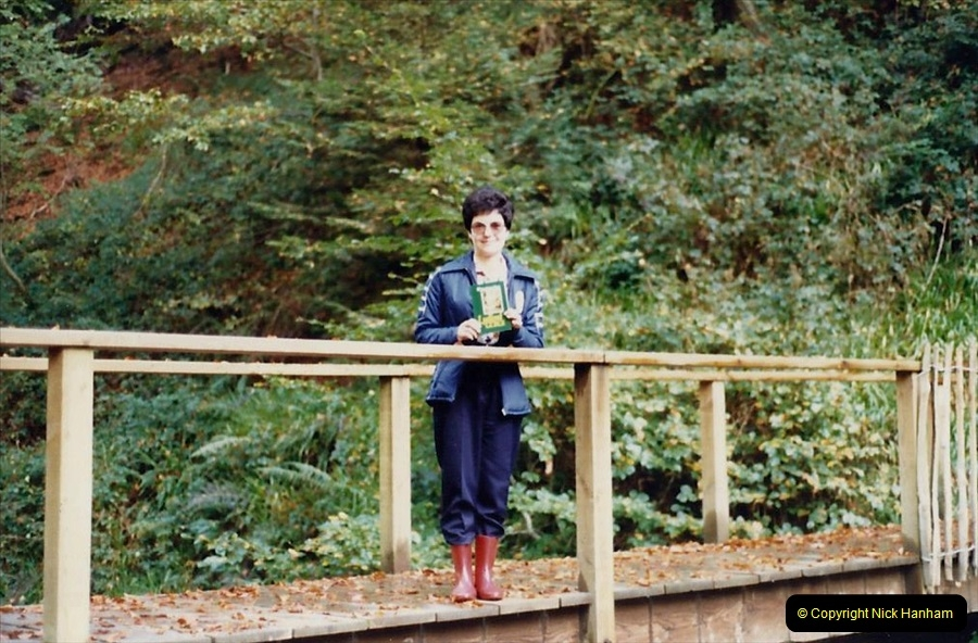 1988 Lydford Gorge, Devon. Your Host's Wife.  (27)664478