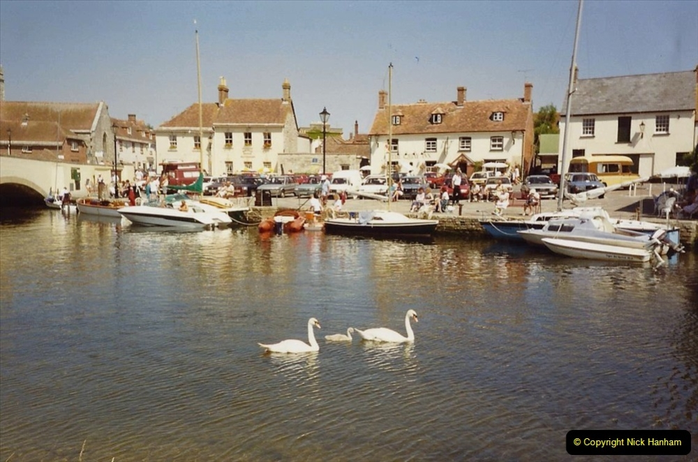 1989 A trip by river from Poole to Wareham. (4) 565