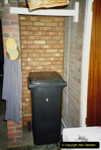 1989 April May June Your Host Building Cloakroom and shower room using alleyway between garage and house. (17)