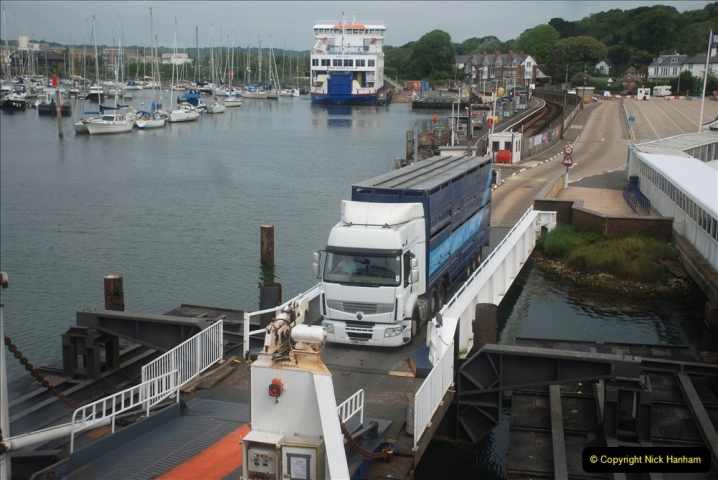 2019-06-02 MBF Meeting on the IOW. (27) IOW ferry. 028