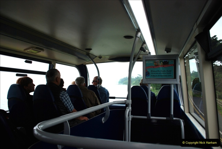 2019-06-02 MBF Meeting on the IOW. (55) Three different buses to get to the Ryde Bus Museun for the meeting. 056