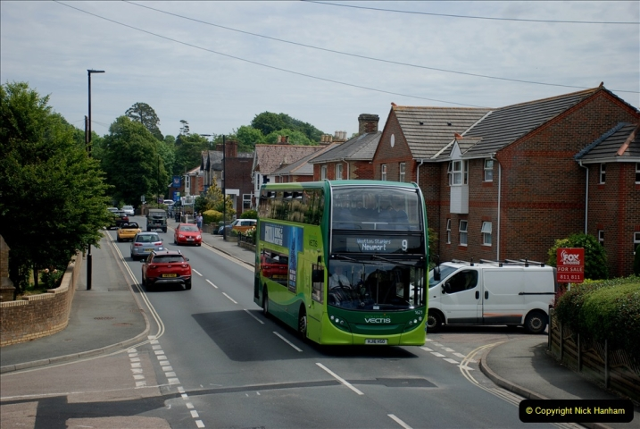 2019-06-02 MBF Meeting on the IOW. (58) Three different buses to get to the Ryde Bus Museun for the meeting. 059