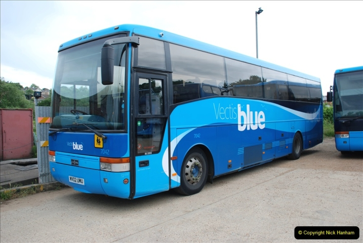 2019-06-02 MBF Meeting on the IOW. (81) The Museum is also a Vectis Blue parking area. 082