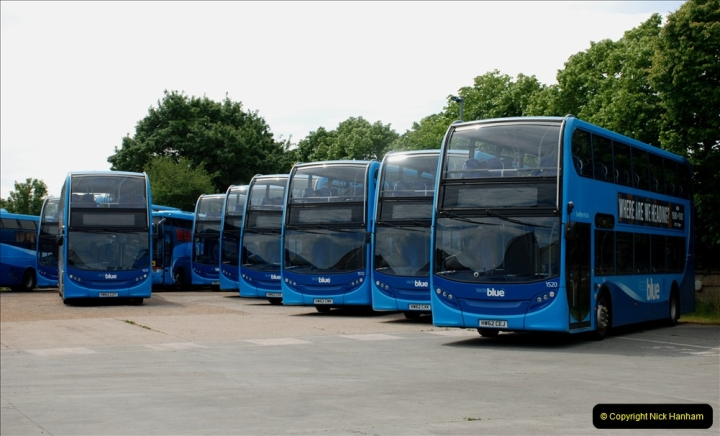 2019-06-02 MBF Meeting on the IOW. (90) The Museum is also a Vectis Blue parking area. 091