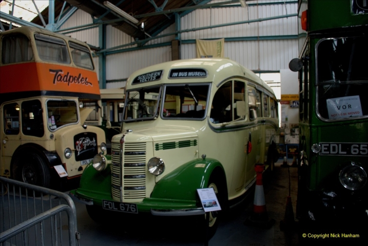 2019-06-02 MBF Meeting on the IOW. (100) The IOW Ryde Bus Museum. 101