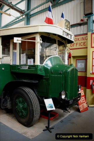 2019-06-02 MBF Meeting on the IOW. (165) The IOW Ryde Bus Museum. Paris bus and other Paris bus items. 166