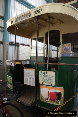 2019-06-02 MBF Meeting on the IOW. (170) The IOW Ryde Bus Museum. Paris bus and other Paris bus items. 171