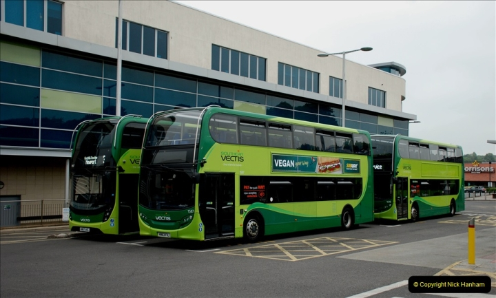 2019-06-02 MBF Meeting on the IOW. (230) Three more bus rides back to Yarmouth. 231
