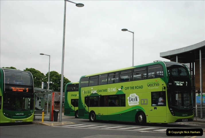 2019-06-02 MBF Meeting on the IOW. (237) Three more bus rides back to Yarmouth. 238