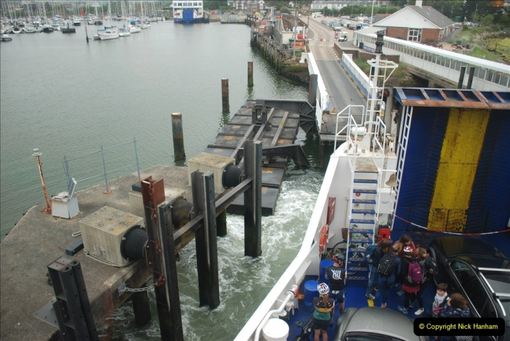 2019-06-02 MBF Meeting on the IOW. (250) Yarmouth back to Lymington. 251