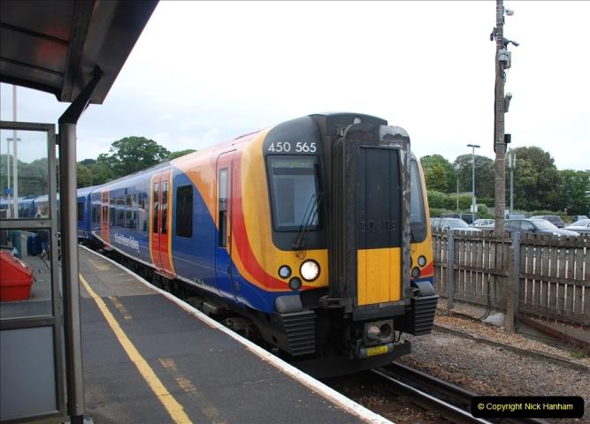 2019-06-02 MBF Meeting on the IOW. (257) Lymington and my train back to Brockenhurst.258