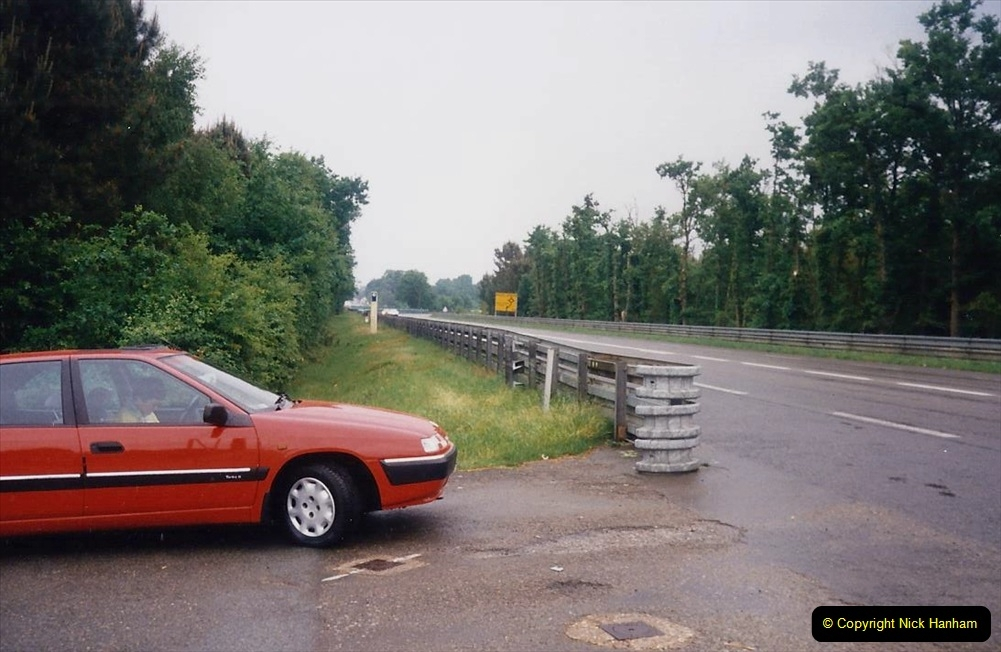 1995 France May - June. (4) Le Mans and on the famous Mulsanne Straight. 04