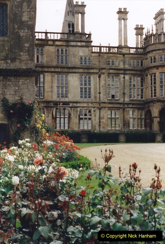 1999 June, Stamford - Burghley - Barnsdale. (17) Burghley House. 017