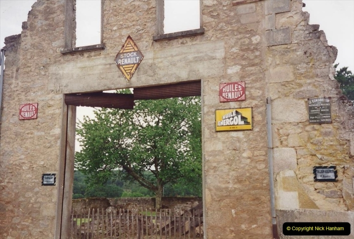 1994 France. (140) Oradour Sur-Glane was sacked by retreating German forces at the end of WW2. 145