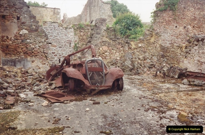 1994 France. (142) Oradour Sur-Glane was sacked by retreating German forces at the end of WW2. 147