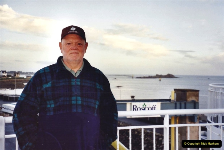 2001 September in France. (57) At Roscoff for the return to Plymouth. 57