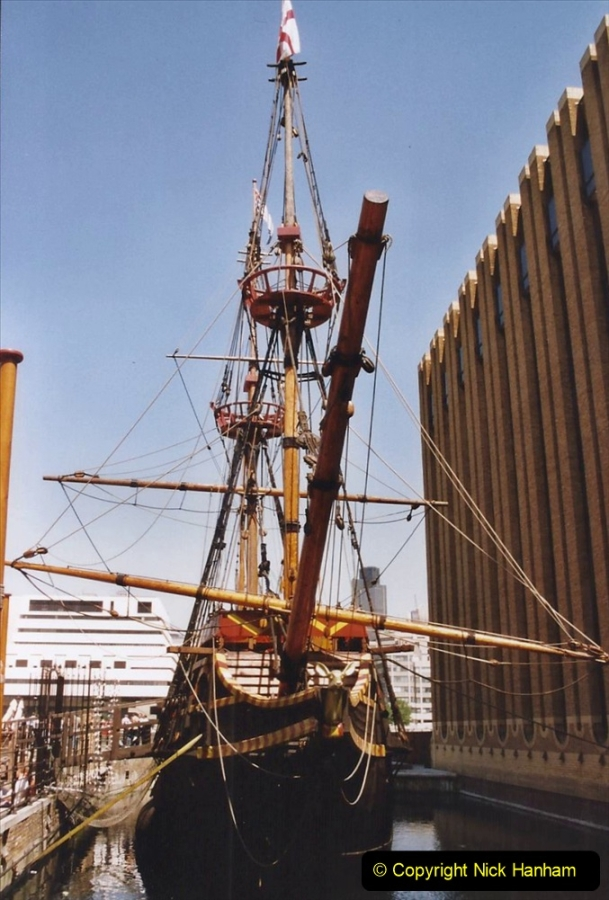 2002 July - London. (13) The Golden Hind. 13