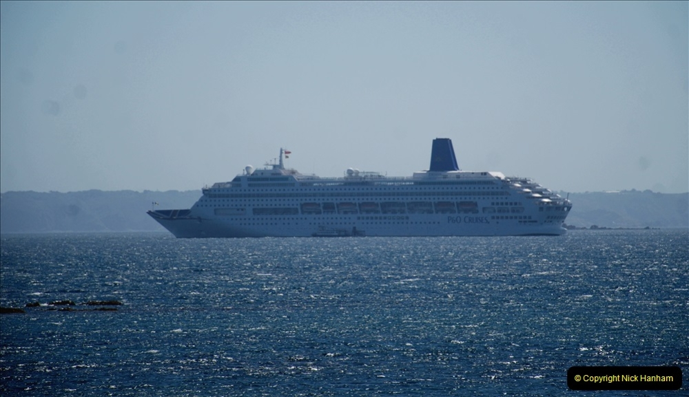 2019 June 28 to 05 July P&O MV Oriana France, Spain and Guernsey. (46) Guernsey CI. Round the island costal bus ride. 046