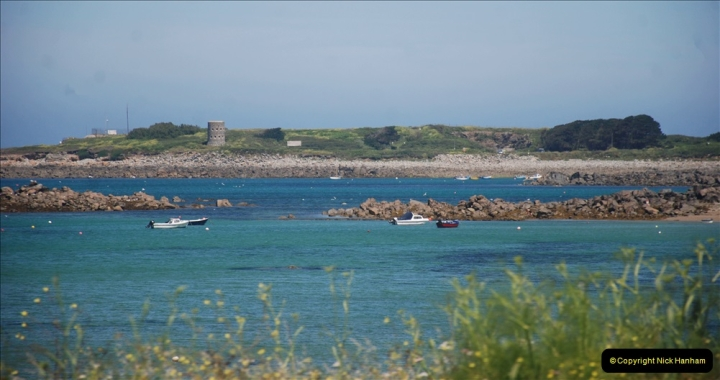 2019 June 28 to 05 July P&O MV Oriana France, Spain and Guernsey. (61) Guernsey CI. Round the island costal bus ride. 061