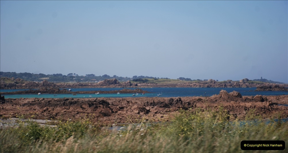 2019 June 28 to 05 July P&O MV Oriana France, Spain and Guernsey. (71) Guernsey CI. Round the island costal bus ride. 071