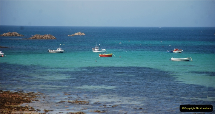 2019 June 28 to 05 July P&O MV Oriana France, Spain and Guernsey. (75) Guernsey CI. Round the island costal bus ride. 075