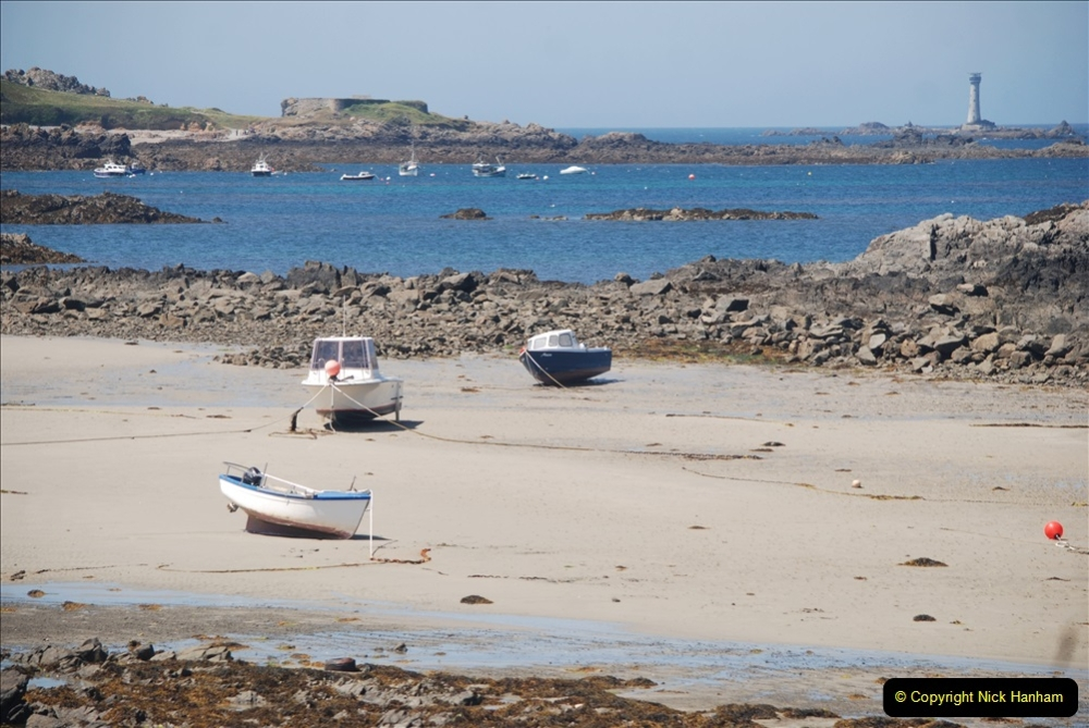 2019 June 28 to 05 July P&O MV Oriana France, Spain and Guernsey. (105) Guernsey CI. Round the island costal bus ride. 105