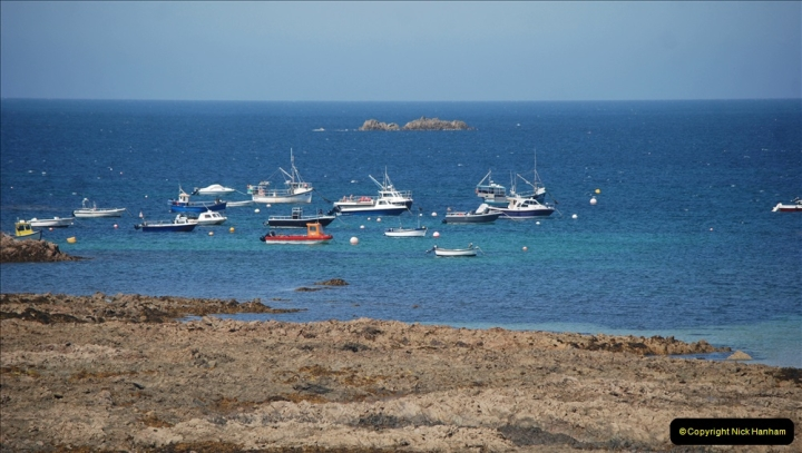 2019 June 28 to 05 July P&O MV Oriana France, Spain and Guernsey. (109) Guernsey CI. Round the island costal bus ride. 109