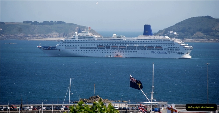 2019 June 28 to 05 July P&O MV Oriana France, Spain and Guernsey. (175) Guernsey CI. 175