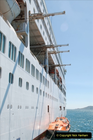2019 June 28 to 05 July P&O MV Oriana France, Spain and Guernsey. (221) Guernsey CI. Tender back to our ship. 221
