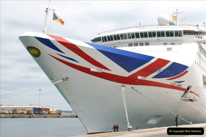 2019 June 28 to 05 July P&O MV Oriana France, Spain and Guernsey. (179) Santander, Spain. 179
