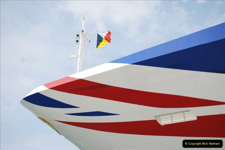 2019 June 28 to 05 July P&O MV Oriana France, Spain and Guernsey. (181) Santander, Spain. 181