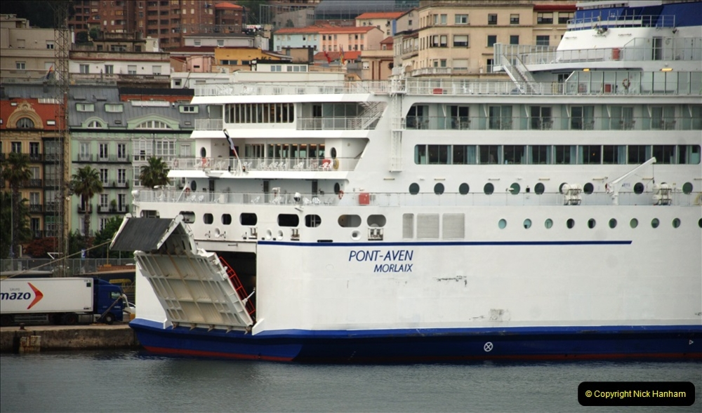 2019 June 28 to 05 July P&O MV Oriana France, Spain and Guernsey. (192) Santander, Spain. On our way to Ferrol. 192